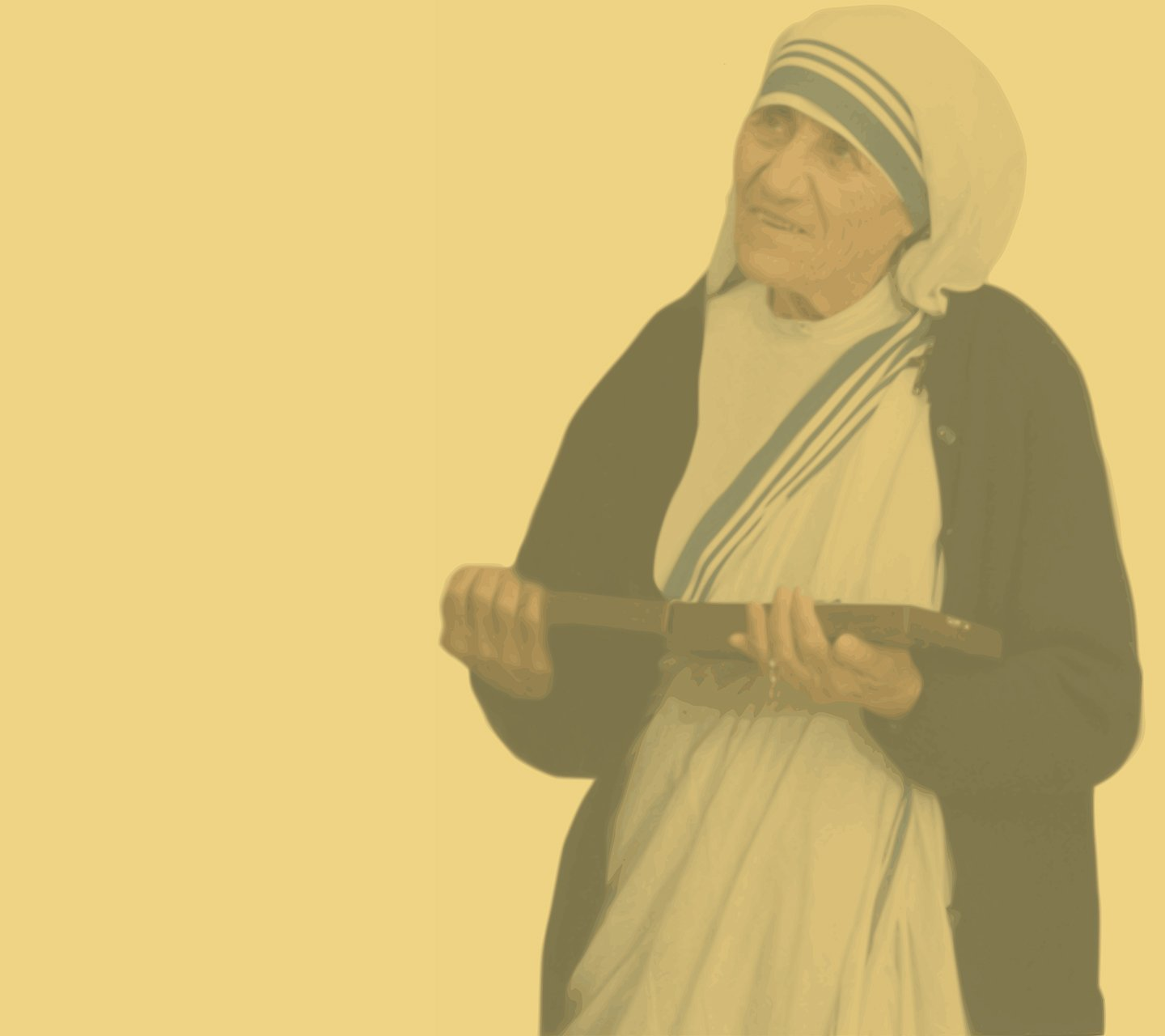 Praying with St. Mother Teresa